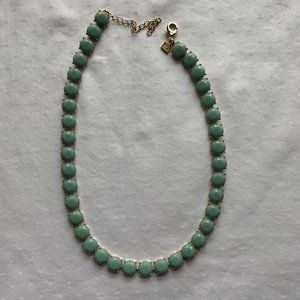 BR mint green necklace